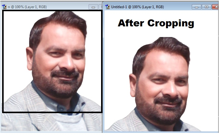 Crop Tool Practical