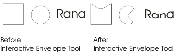 Interactive Envelope Tool Practical CoreDraw