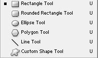 Shape Tool Adobe PhotoShop