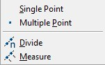 point options in AutoCAD