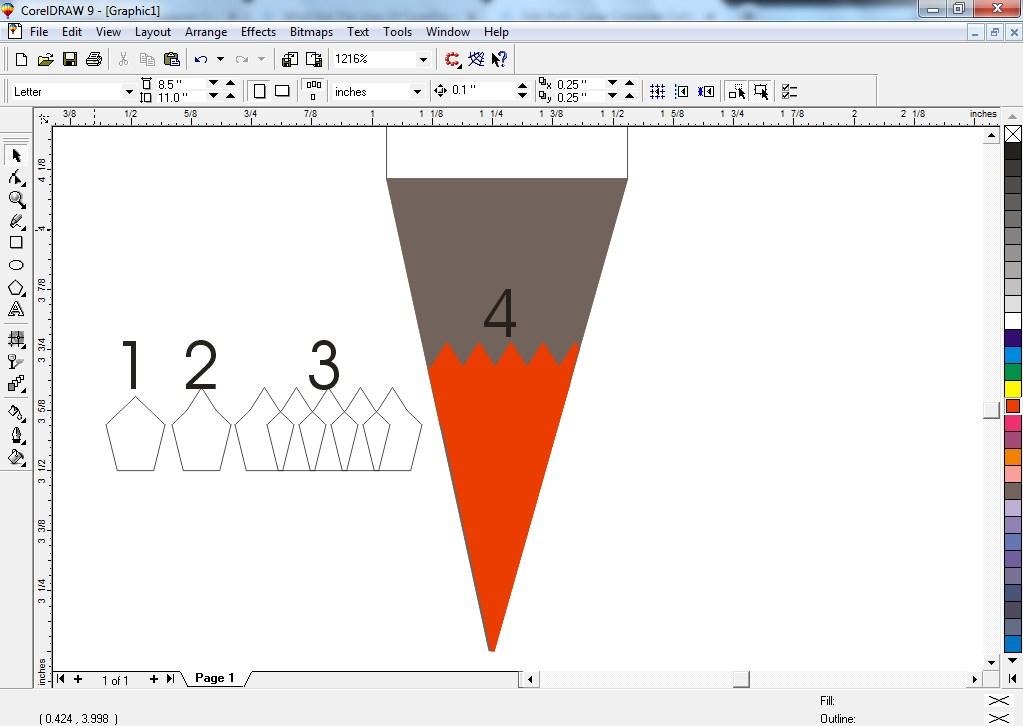 draw pencil 11