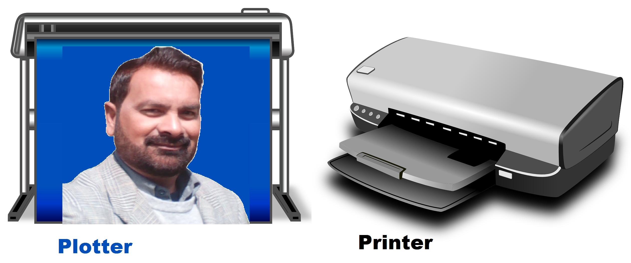 plotter printer