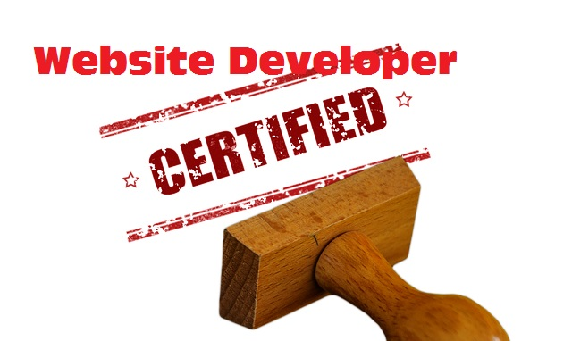 Website Developer Certification