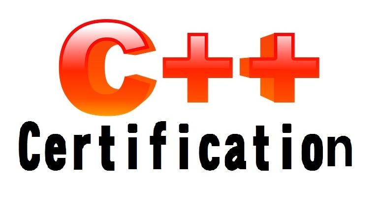 c++ certification