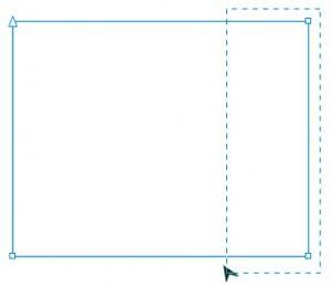 rectangular nodes selection