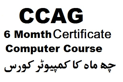 ccag 6 month computer courses