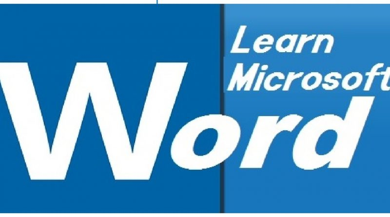 learn microsoft word